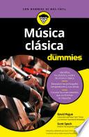 Libro de Música Clásica Para Dummies