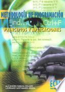Libro de Metodología De Programación. Principios Y Aplicaciones