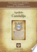 Libro de Apellido Candalija