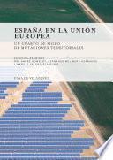 Libro de España En La Unión Europea