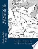 Libro de El Tratado De Versalles De 1919