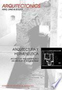 Libro de Arquitectura Y Hermenéutica