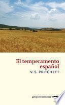 Libro de El Temperamento Español