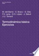 Libro de Termodinámica Básica. Ejercicios