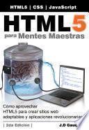 Libro de Html5 Para Masterminds