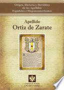 Libro de Apellido Ortiz De Zarate