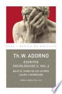 Libro de Escritos Sociológicos Ii, 2