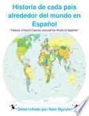 Libro de History Of Each Country Around The World In Spanish
