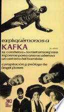 Libro de Expliquémonos A Kafka