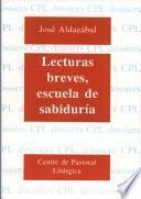 Libro de Lecturas Breves, Escuela De Sabiduría
