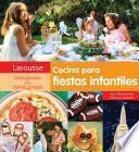 Libro de Cocina Para Fiestas Infantiles