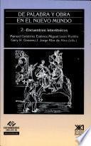 Libro de De Palabra Y Obra En El Nuevo Mundo: Encuentros Interétnicos