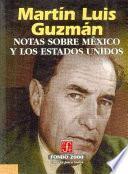 Libro de Notas Sobre México Y Los Estados Unidos