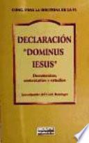 Libro de Declaración  Dominus Iesus