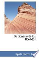 Libro de Diccionario De Los Apellidos