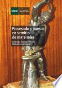 Libro de Procesado Y Puesta En Servicio De Materiales