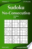 Libro de Sudoku No Consecutivo   Medio   Volumen 3   276 Puzzles