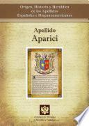 Libro de Apellido Aparici