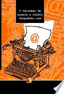 Libro de V Certamen De Poesía Y Relato Grupobuho.com