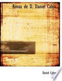 Libro de Rimas De D. Daniel Calvo