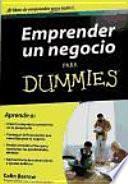 Libro de Emprender Un Negocio Para Dummies