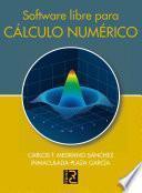 Libro de Software Libre Para Cálculo Numérico