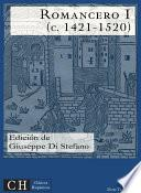 Libro de Romancero I (c. 1421   1520)