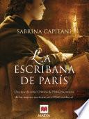 Libro de La Escribana De París