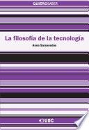 Libro de La Filosofía De La Tecnología