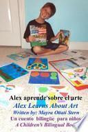Libro de Alex Aprende Sobre El Arte