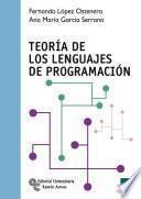 Libro de Teoría De Los Lenguajes De Programación