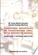 Libro de Canciones Infantiles Actuales En La Región De Murcia