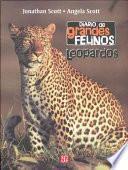 Libro de Diario Felinos: Leopardos