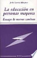 Libro de La Educación En Personas Mayores