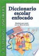 Libro de Diccionario Escolar Enfocado
