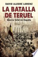 Libro de La Batalla De Teruel