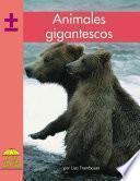Libro de Animales Gigantescos
