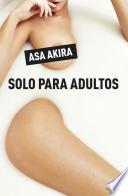 Libro de Solo Para Adultos