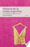 Libro de Historia De La Moda Argentina