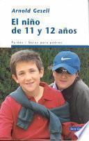 Libro de El Niño De 11 Y 12 Años