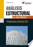 Libro de Analisis Estructural Con Matrices