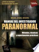 Libro de Manual Del Investigador Paranormal