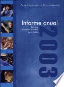 Libro de International Monetary Fund Annual Report 2003