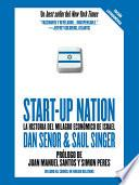 Libro de Start Up Nation