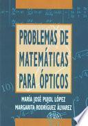 Libro de Problemas De Matemáticas Para ópticos