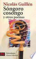 Libro de Sóngoro Cosongo Y Otros Poemas