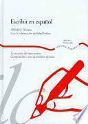 Libro de Escribir En Español