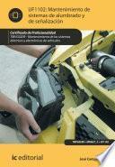 Libro de Mantenimiento Del Sistema De Alumbrado Y Señalización. Tmvg0209