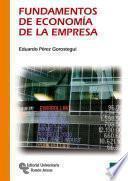 Libro de Fundamentos De Economía De La Empresa