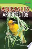Libro de Animales Arquitectos (animal Architects)